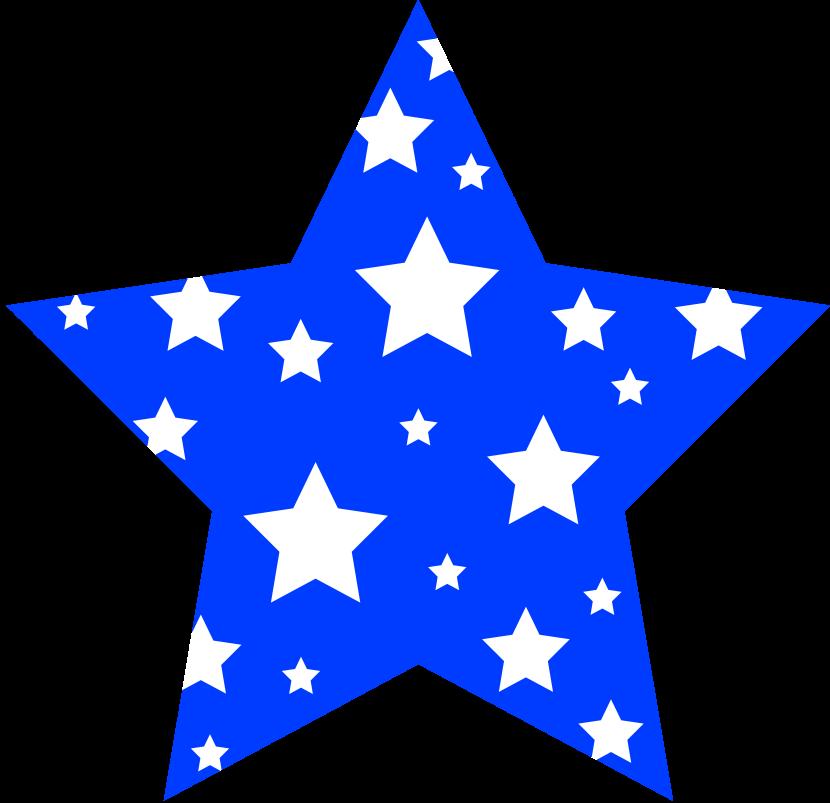830x803 Star Border Clipart