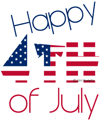 333x400 4th Of July Clipart Png
