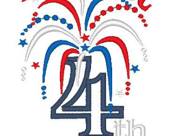 340x270 4th Of July Fireworks Clipart