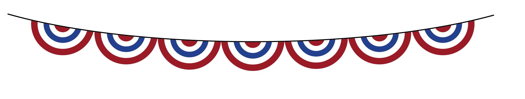 4th of july banner. Th png free