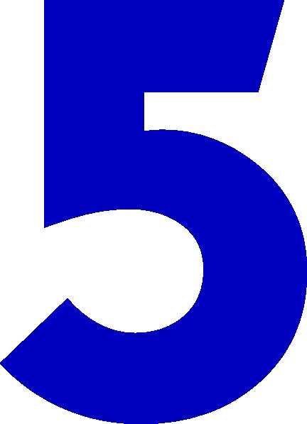 432x597 Five Clip Art
