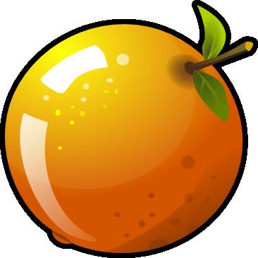 366x365 Orange Clip Art Free Clipart Images 5