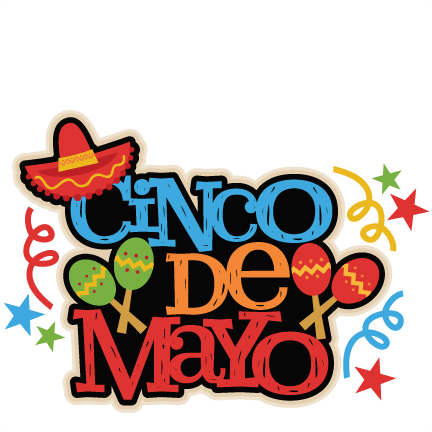 432x432 Cinco De Mayo Title Svg Scrapbook Cut File Cute Clipart Files
