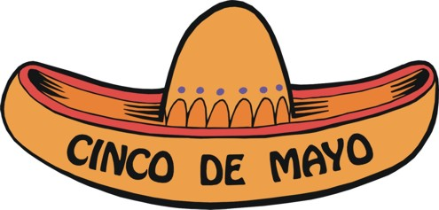 495x237 Cinco De Mayo Hats Clipart