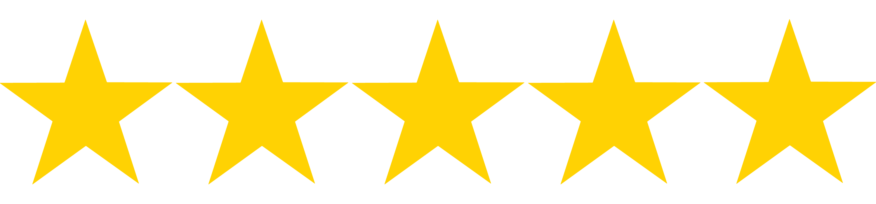 5 Gold Stars | Free download on ClipArtMag