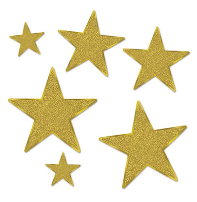 1461x1500 Otc Gold Star 12inch Cutout 1 Dozen Gold Foil Cardboard Star Cutouts