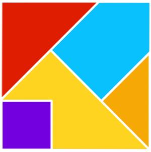 300x302 Five Piece Tangram