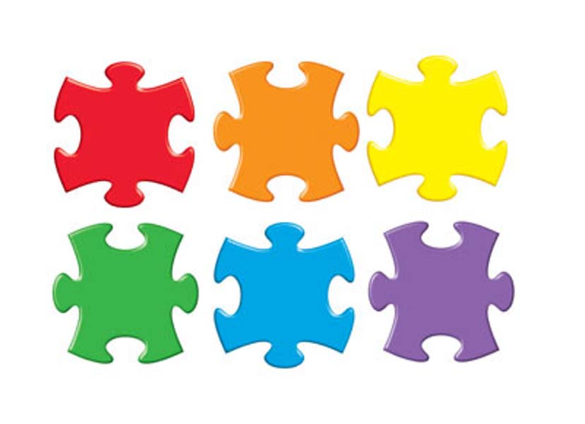 828x600 Free Clipart Jigsaw Puzzle Pieces