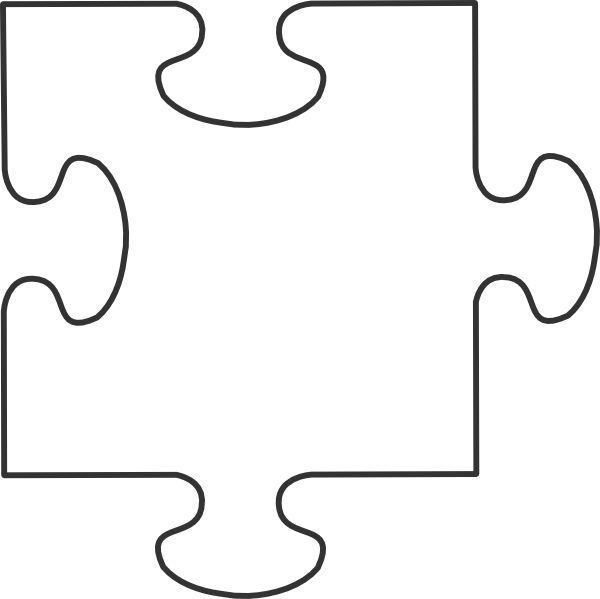 600x599 Pattern Clipart Puzzle Piece