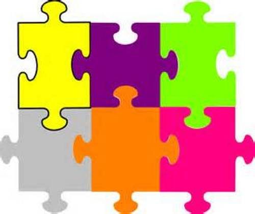500x420 Puzzle Cliparts