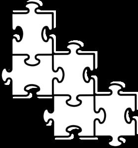 279x298 Puzzle Pieces Connected Clip Art
