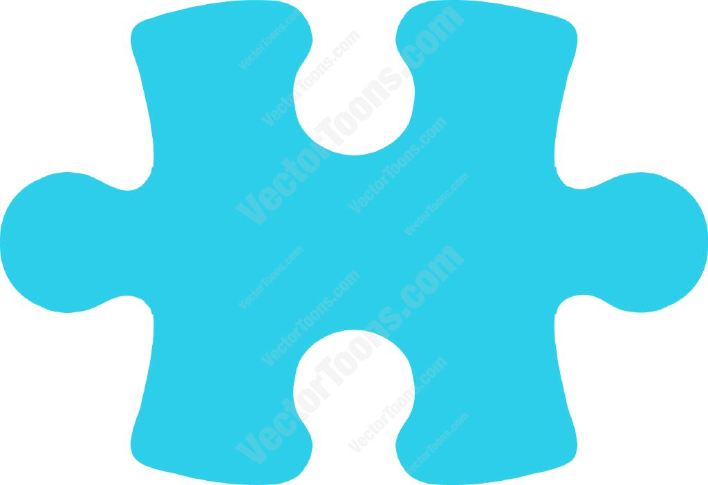 1024x702 Puzzle Clipart Outline