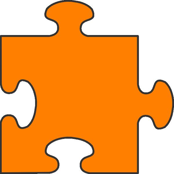 600x601 Single Clipart Puzzle Piece