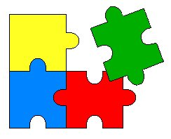 244x198 Blank Puzzle Piece Clipart