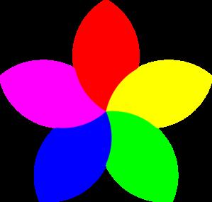 299x285 Football 5 Petal Flower Clip Art