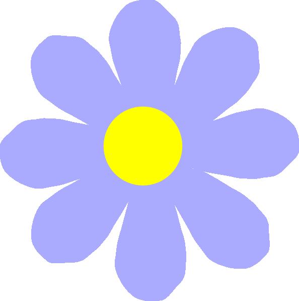 594x597 Blue Flower Clipart Petal