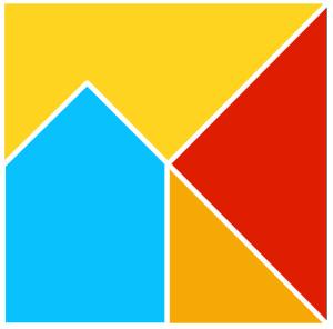 300x296 Five Piece Tangram