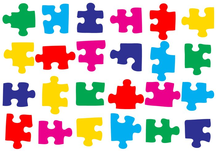 700x490 Free 50 Puzzle Pieces Brushes