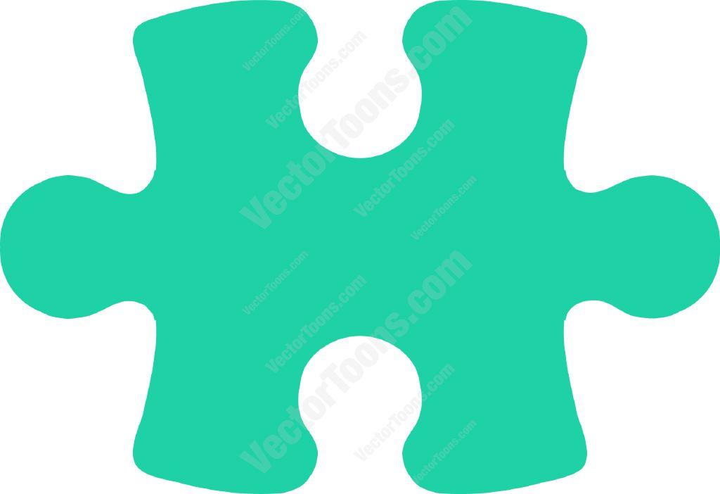 1024x702 Green Puzzle Piece Cartoon Clipart