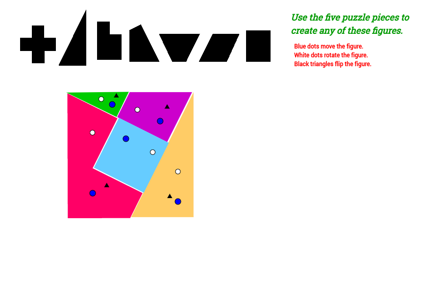 863x620 5 Piece Puzzle