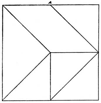 345x352 5 Piece Square Puzzle