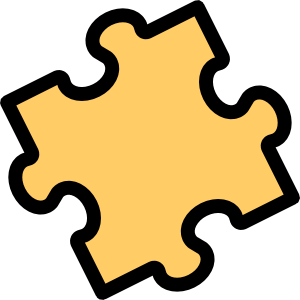 5 Puzzle Pieces