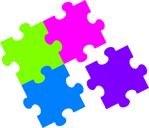 600x515 Jigsaw Puzzle Pieces Clipart