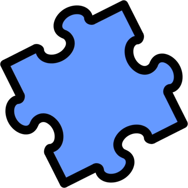 600x600 Jigsaw Puzzle Pieces Clipart