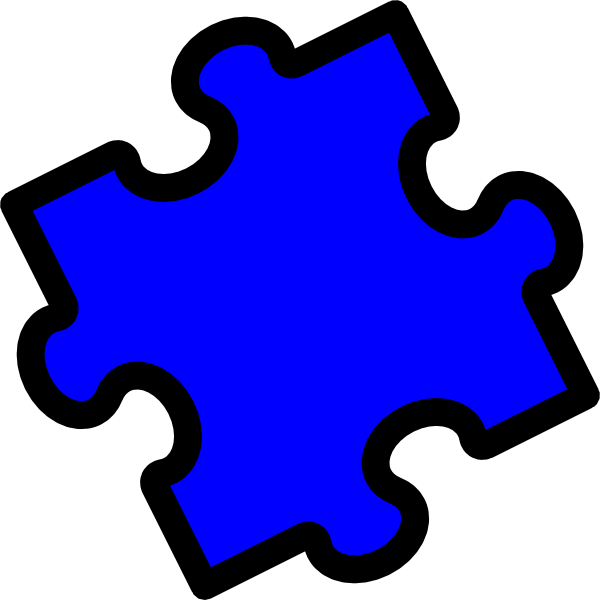 600x600 Puzzle Pieces Clipart