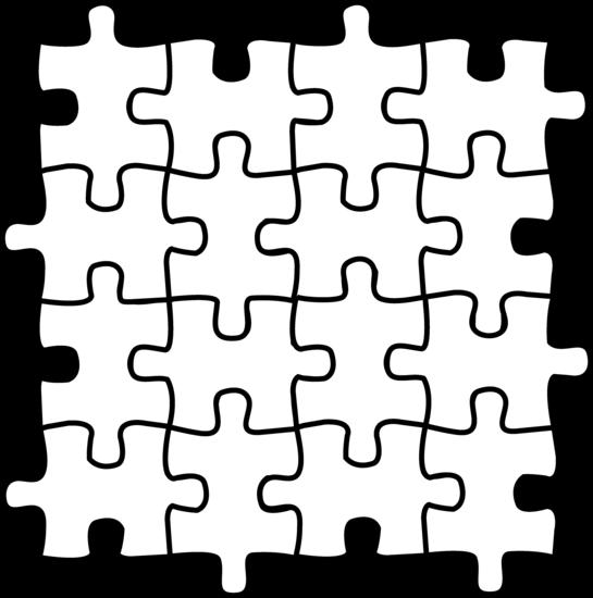 545x550 Puzzle Piece Clip Art Hostted 4