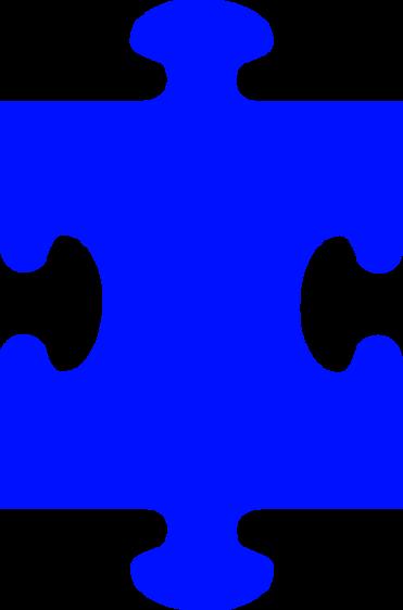 371x562 Clipart 5 Puzzle Pieces
