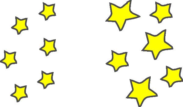 600x352 Falling Stars Clipart Star Cluster