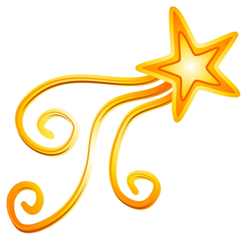 480x480 Shooting Star Clipart Star Award