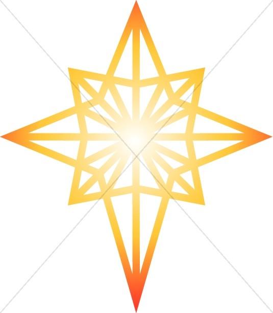 535x612 Bright Clipart Shining Star