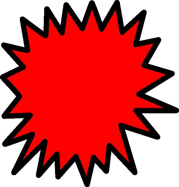 576x599 Starburst Clip Art Star Rating Clipart Image