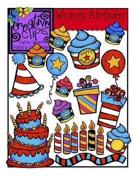 50 Birthday Clipart