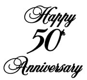180x165 Happy 50th Anniversary Clipart