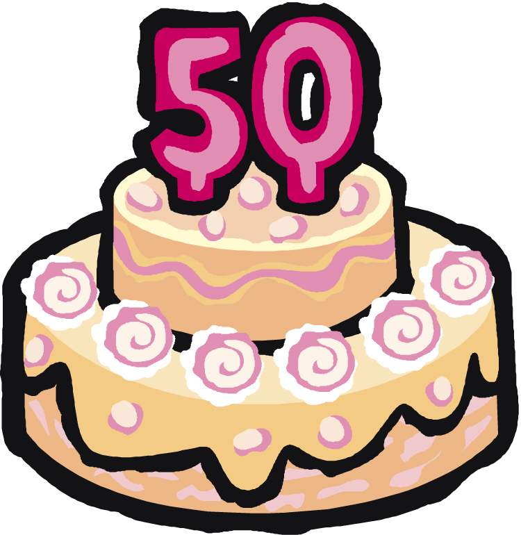 50th Birthday Clipart Free Download Best 50th Birthday Clipart On