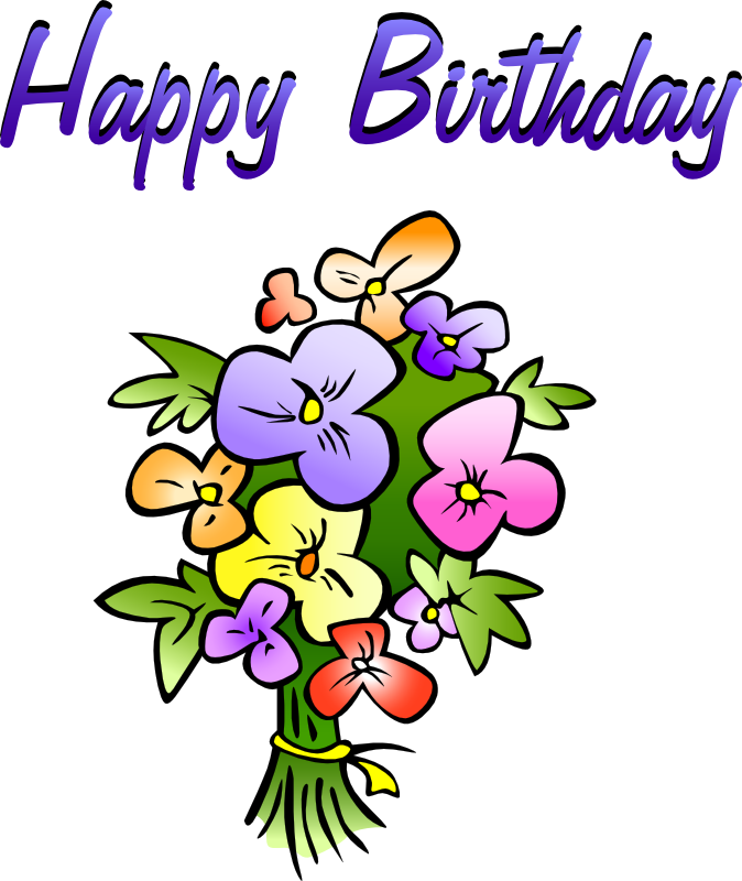 674x800 Free Birthday Happy Clip Art Clipart Images 2