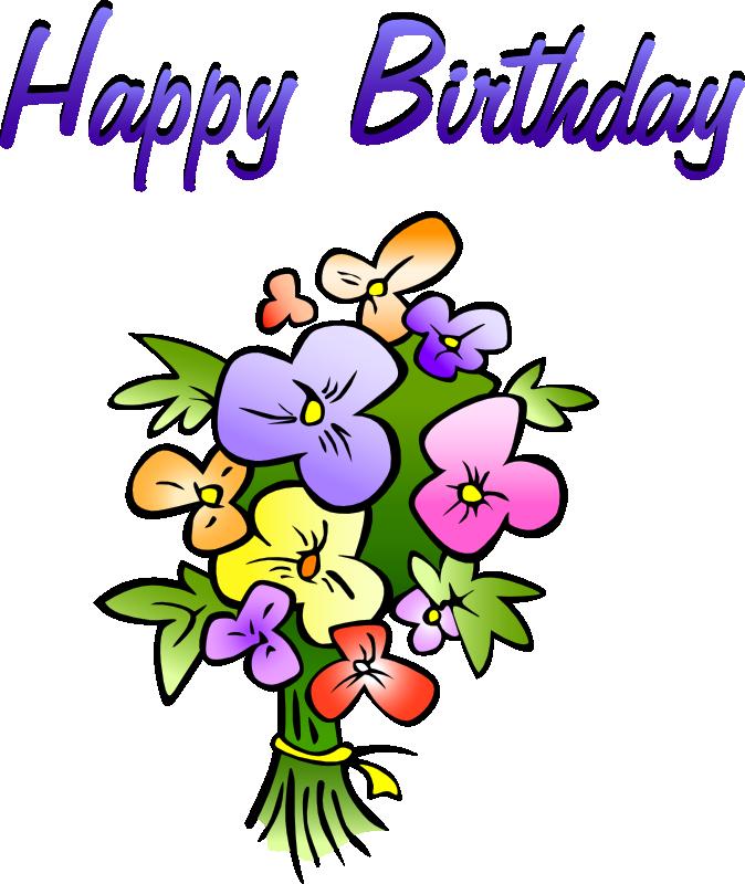 674x800 Happy Birthday Free Animated Clip Art Pin