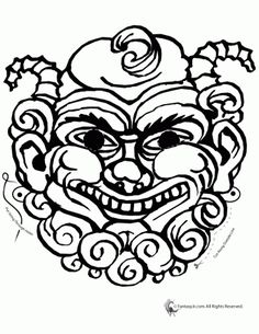 236x305 Greek Myth Mask Coloring Page Crafts Greek