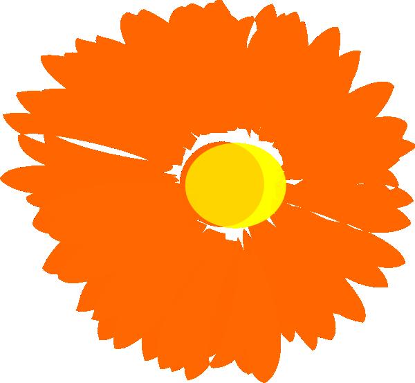 600x553 Flower 25 Clip Art