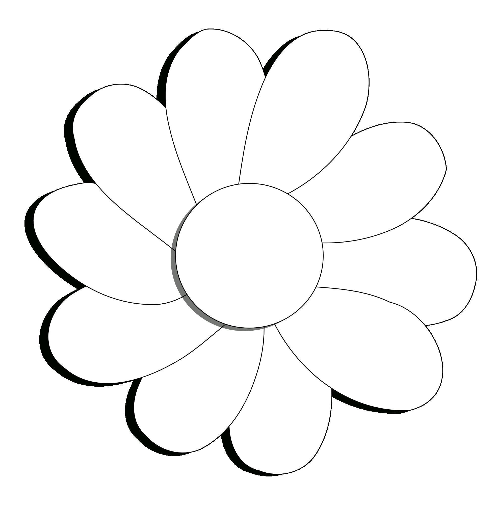 1969x2009 Flower Line Clipart