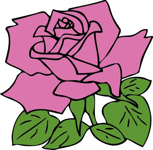 499x490 Free Rose Clipart Public Domain Flower Clip Art Images