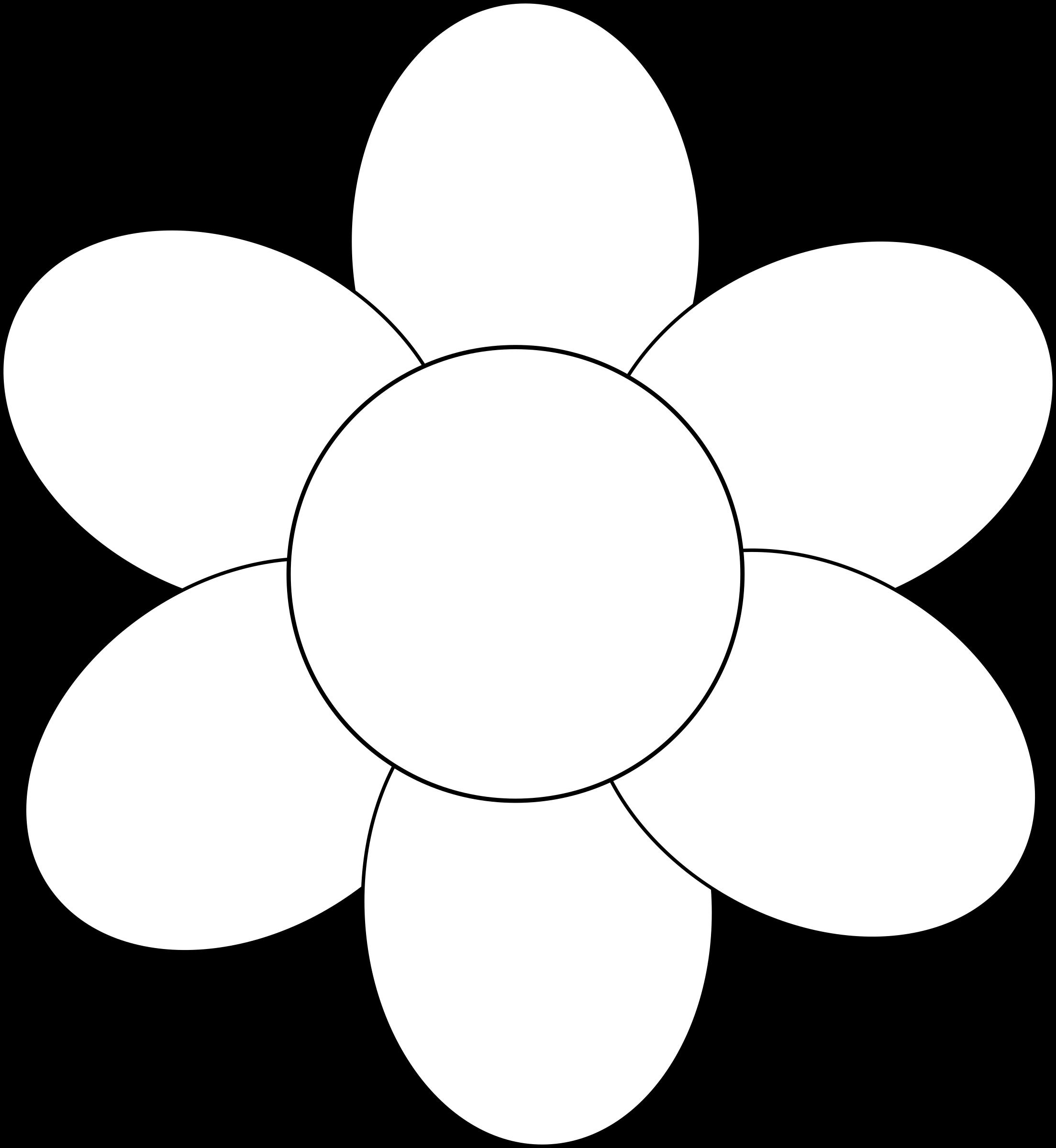 2207x2400 Petal Clipart Big Flower