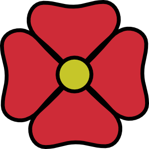 300x300 Red Flower Free Flower Clip Art Graphics Of Flowers For Layouts