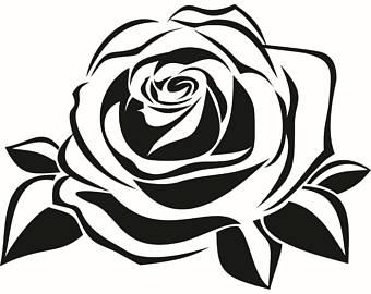340x270 Rose Petal Clipart Etsy