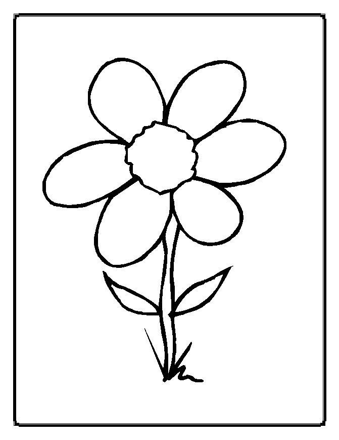 671x869 6 Petal Flower Template