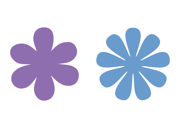 600x428 6 And 9 Petal Flower Svg Files Images By Heather M's Blog
