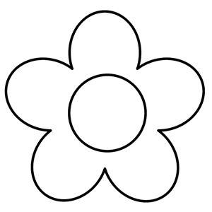 300x300 Best Flower Template Ideas Paper Flower